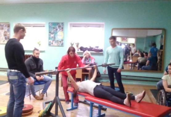 Секция паралимпизма СТК «Старт», тренер Точицкая Ю.Н.