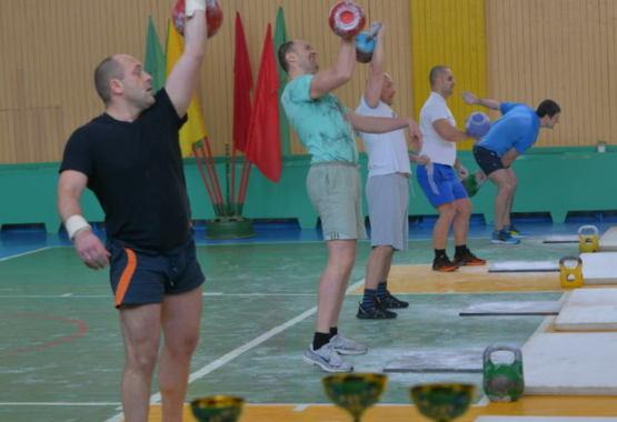 Первенство ОАО «Мозырский НПЗ» по гиревому спорту