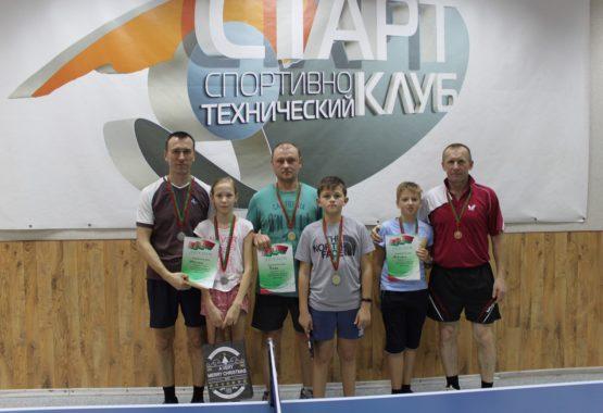 Традиционный семейный турнир по настольному теннису В СТК «Старт».