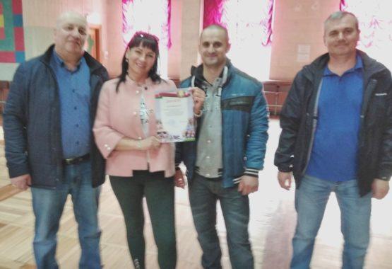 Шашисты сборной ОАО «Мозырский НПЗ стали первыми!