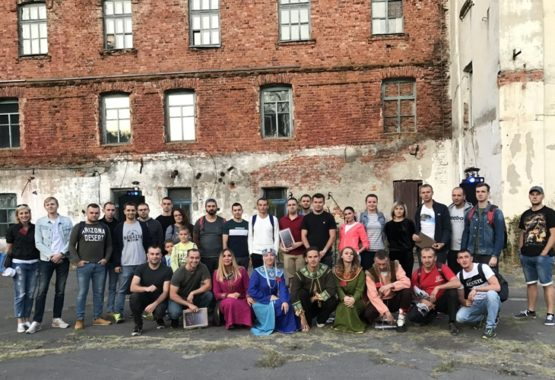 Пятница 13-го для заводской молодёжи была наполнена приключениями