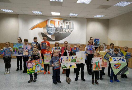 Восхищение папами в рисунках детей