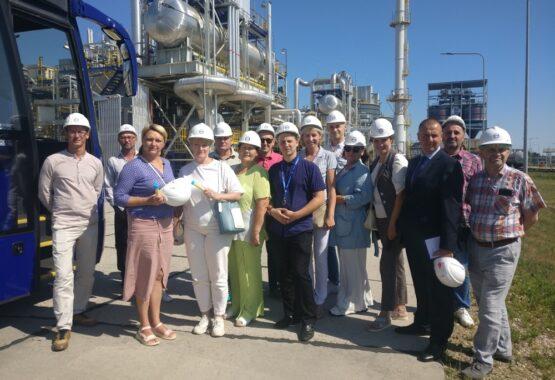 Профактив нашего предприятия посетил ОАО «Нафтан»